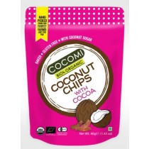 CHIPS DE COCO CHOCOLATE ORGÁNICOS 40G